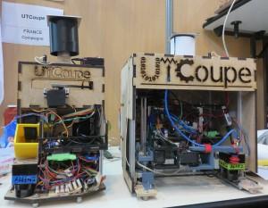Nos deux robots sont prêts pour l'homologation !